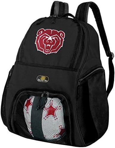 Missouri State University SoccerバックパックまたはMissouri State Bearsバレーボールバッグ