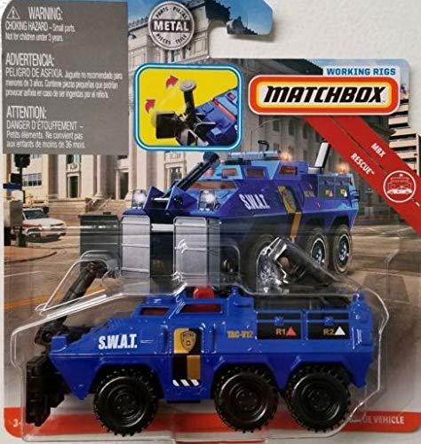 - MBX Matchbox Rescue Blue Tactical Rescue Vehicle DIE-CAST