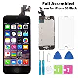 """Best Iphone 5s Replacement Screens - Screen Replacement for iPhone 5S Black 4"""" Full Review"""