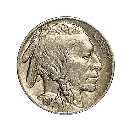 1915 P Buffalo Nickel - Gem BU/MS/UNC