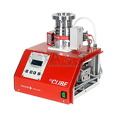 (Pfeiffer HiCube 80 Eco Turbo Pumping Station, Includes HiPace 80 Turbo Pump (DN 63 CF-F), MVP 015 Diaphragm Vacuum Pump)