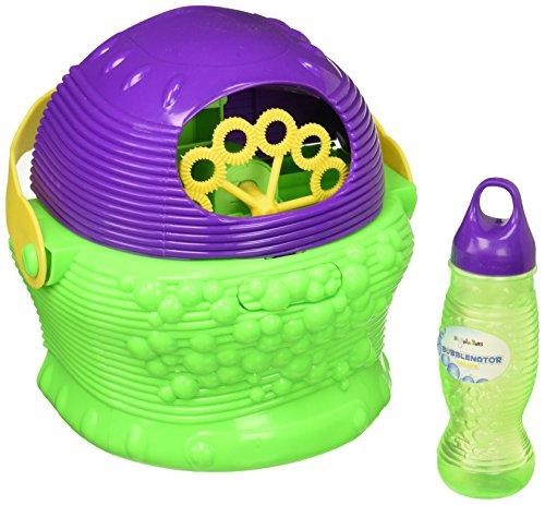 Hoopla Toys HT-10004 Bubblenator Deluxe Bubble Blower Battery Powered Machine Kids Toy