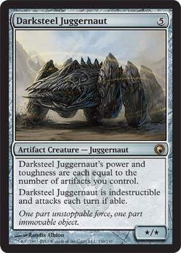 Magic: the Gathering - Darksteel Juggernaut - Scars of Mirrodin