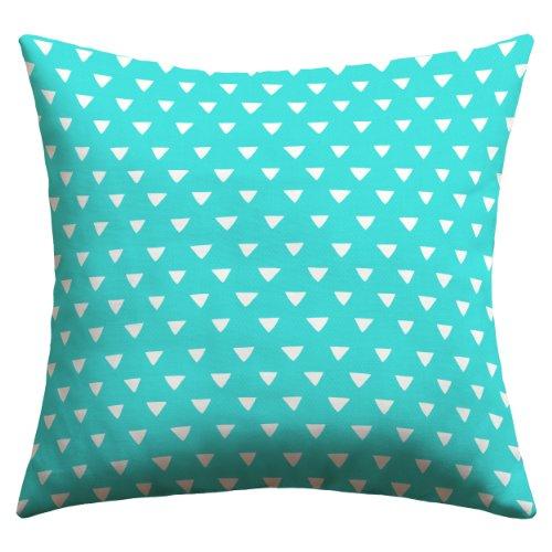 Price comparison product image Deny Designs Bianca Green Aztec Diamonds Fiesta Outdoor Throw Pillow