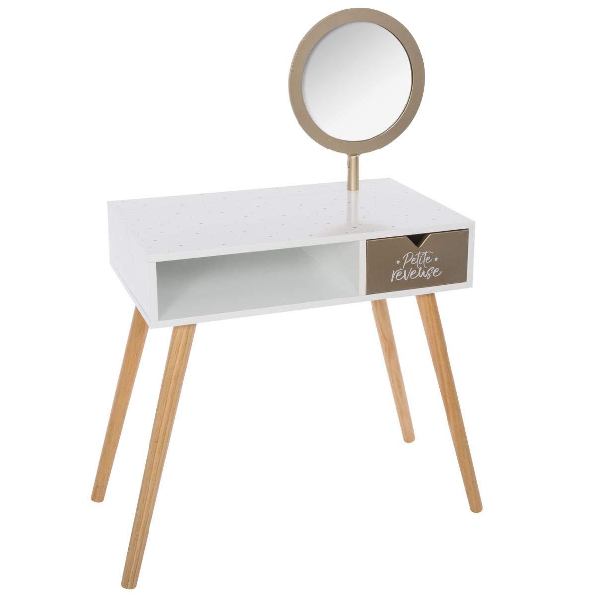 Atmosphera – Toeletta con specchio girevole per cameretta dei bimbi
