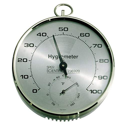 Sper Scientific 736920, Dial Hygrometer/Thermometer (Pack of 5 pcs)
