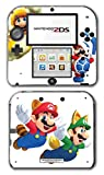 Super Mario Bros Boomerang Squirrel Acorn Cat Suit Video Game Vinyl Decal Skin Sticker Cover for Nintendo 2DS System Console