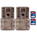 Moultrie A30i 12MP 60' Video No Glow IR Trail Camera + 16GB SD Card (2 Each)