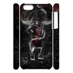 LJF phone case C-EUR Diy 3D Case Derrick Rose for iphone 6 4.7 inch