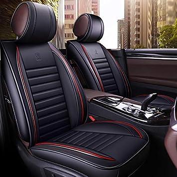 Han Sui Song Autositzbezug Set Autozubehör 9 Teilig Schwarz Für Asx Outlander Carisma L200 Civic Crv Forester 156 Cayenne Nx Rx Auto