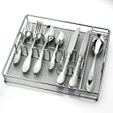 Home Evanston 45-pc. Flatware Set with Bonus Serving Set and Caddy
