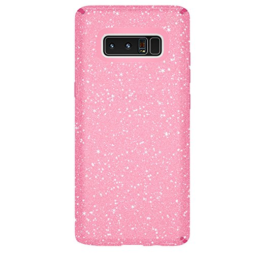 Speck Products Presidio Clear + Glitter Cell Phone Case for  Samsung Galaxy Note8 - Bella Pink With Gold Glitter/Bella Pink Presidio Clear + Glitter (Note Speck 3 Case For Phone)