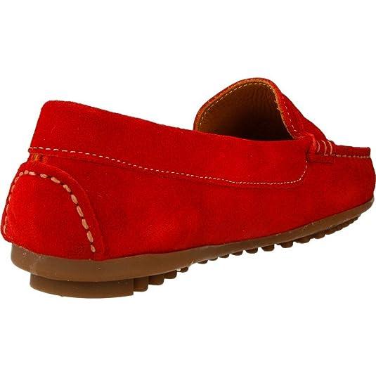 Mocasines para Mujer, Color Rojo, Marca PRIVATA, Modelo Mocasines para Mujer PRIVATA C226 Rojo: Amazon.es: Zapatos y complementos