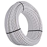 SharkBite 1/2-Inch PEX Tubing, 500 Feet, WHITE, for Residential and Commercial Potable Water Applications