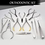 Set of Orthodontic Instruments Of 13 Pieces - Stainless Steel - Height Gauge