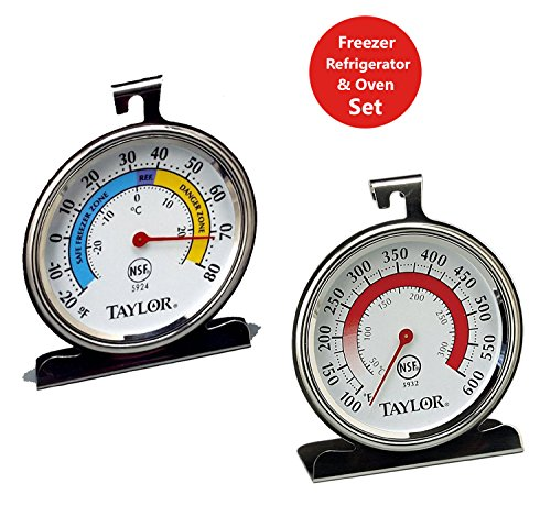 Taylor Precision Products Thermometer Refrigerator
