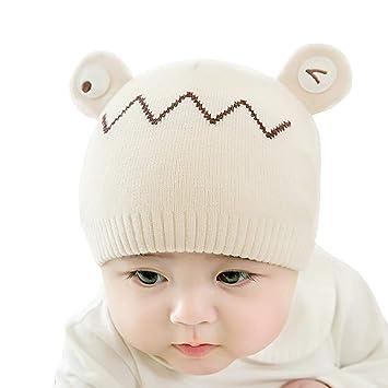 7a19a2582 Amazon.com: Wcysin Newborn Beanie Cap, Cotton Soft Knitted Cap Hat ...