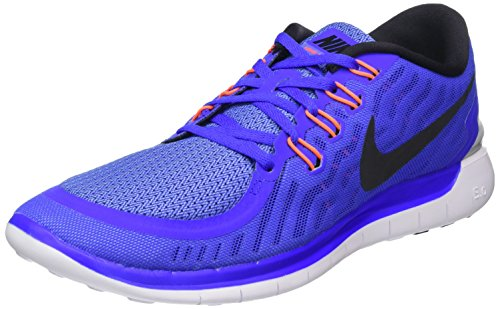 Nike Free 5,0 Dame Løbesko Mehrfabig (blå)