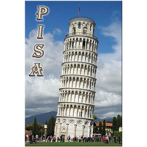 Leaning Tower of Pisa fridge magnet Italy travel souvenir
