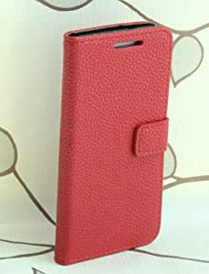 Ezydigital Card Slot Stand Wallet Leather Cover Case for HTC ONE Mini M4