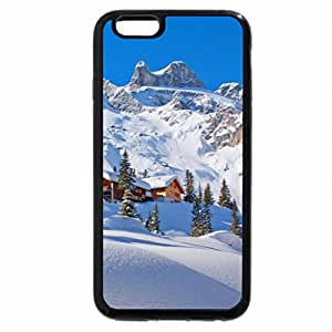 iPhone 6S / iPhone 6 Case (Black) Mountain in winter