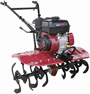 MAXWXKING Professional New Micro Tiller Tillage Machine, Garden Rototiller Cultivators Mini Rotary Machine, Rotary Tiller, Self Propelled Small Agricultural Multifunctional for Planting