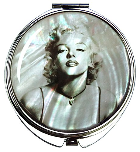 mother of pearl makeup mirror