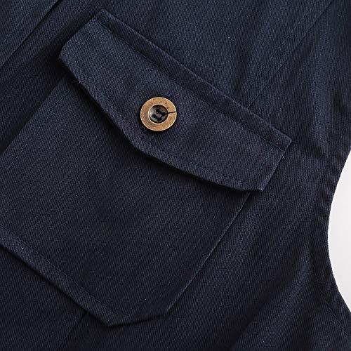 Colore Puro Lungo Con Donna Bottoni ❤ Cappotto Moda Giacca Nero Vicgrey Slim Outwear Inverno Gilet Eleganti Autunno Fit Da Cardigan Parka Ragazze Wnw7YWqP0
