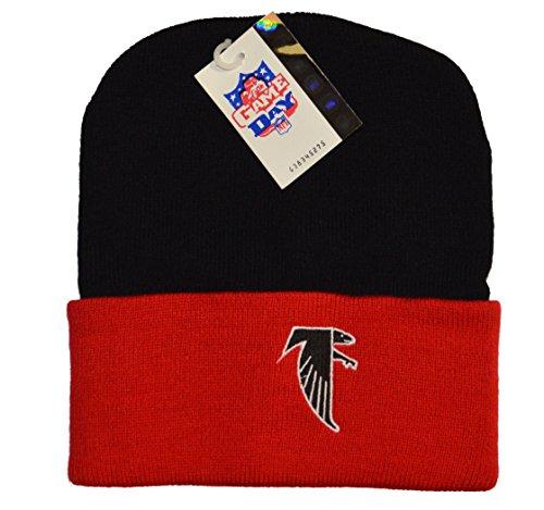 ファンド金銭的うぬぼれたAtlanta Falcons 2トーンCuffニット帽 – NFLニットToque Cuffedキャップ