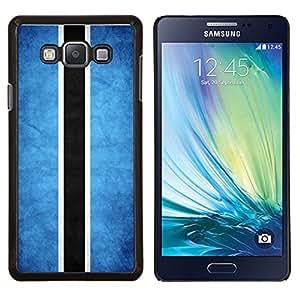 EJOOY---Cubierta de la caja de protección para la piel dura ** Samsung Galaxy A7 A7000 ** --Nacional bandera de la nación País Botswana