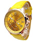 Clearance!Women Analog Quartz Wrist Watch,Canserin Stylish Faux Leather Watches