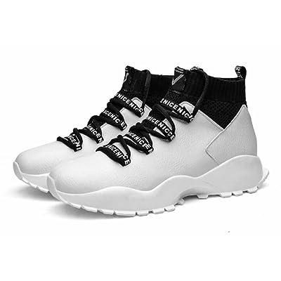 Hommes En Plein Air Sneakers 2017 Automne Hiver Nouveau Haut Haut Athlétique Chaussures De Mode Fourrure Doublé Coton Chaussures