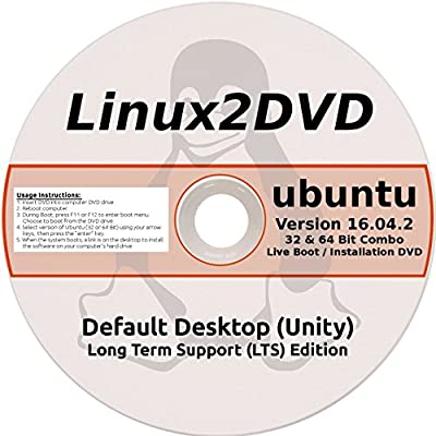 Ubuntu Linux 16.04 LTS 32 & 64 Bit - Latest Long Term Support Release
