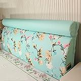 Bedside Back Pad / Detachable Solid Wood Bedside Soft Case / Bedside Backpack ( Size : 18060cm )