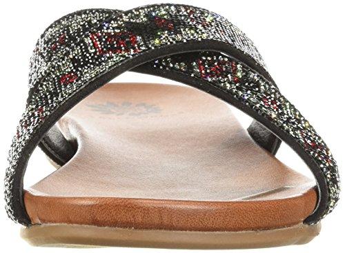 Sandalo Da Donna Bali Giallo Con Scatola Nera