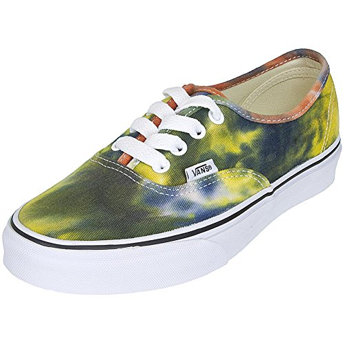 blau orange Vans Damen Authentic Sneaker Dye Blau Tie SYwSXq