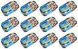 RügenFisch Cod Liver 121g From Germany pack of 12