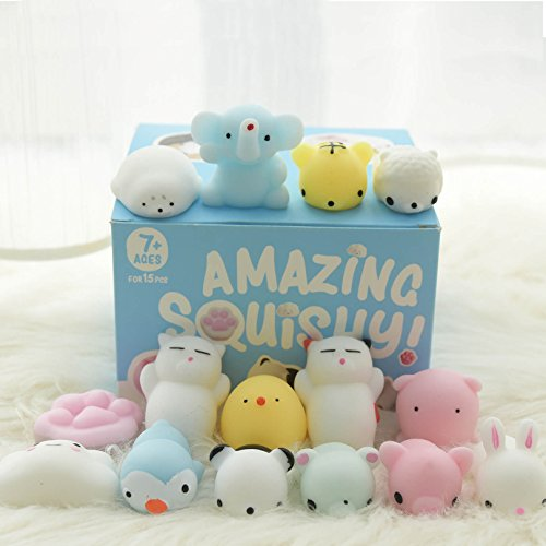 Amazing-Squishy-PREMIUM-TOY-Mochi-Squishy-15-Pcs-Tiny-Squishies-Cat-Mochi-Animals-Stress-Toys-Cat-Squishys-and-Squishys-Kawaii-Squishy-Piggy-Stress-Reliever-Anxiety-Mochi-Squishys-Toys-For-Children