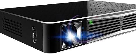 LESHP Mini Proyector Portátil DLP LED 3D Inalámbrico 1080p HD ...