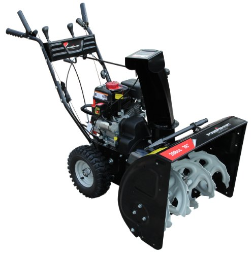 Gas Powered Snow Blowers : Power smart db a inch cc lct gas powered stage