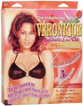 Amazon.com: Voluptuosa Veronique hinchable Love Doll Juguete ...