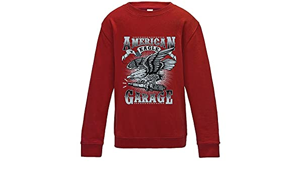 American Eagle Garage Sweater - Red - Medium: Amazon.es: Ropa y ...