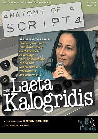 laeta kalogridis wonder woman script