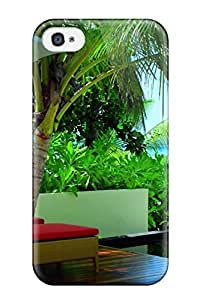 Anti-scratch And Shatterproof Constance Halaveli Resort Maldives Phone Case For Iphone 4/4s/ High Quality Tpu Case