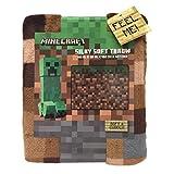 Minecraft Silky Soft Throw