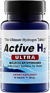 Active H2 Ultra Molecular Hydrogen 460mg, 60 Tablets