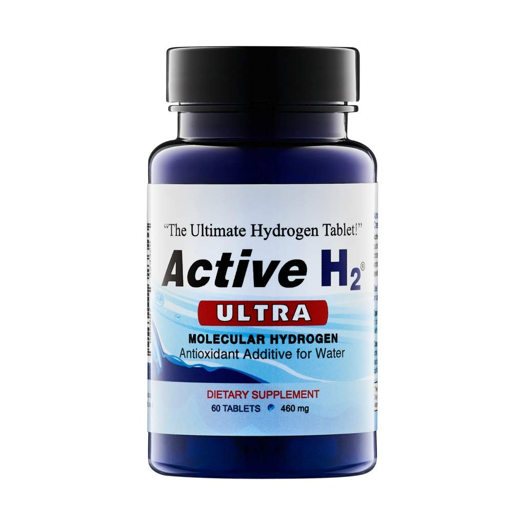 Purative Active H2 Ultra Molecular Hydrogen 460mg, 60 Tablets