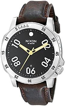 Nixon A508019 Men's Ranger Leather Watch