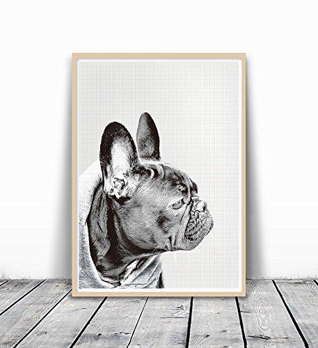 french bulldog art print - 7