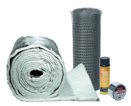 Fireside Chimney Supply FireFlex Insulation Wrap 1/2in - 3in to 6in liners (25ft)